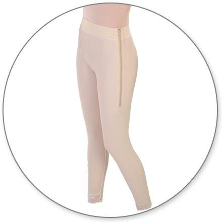 Style 5 - Ankle Girdle 4in Waist Open Crotch by Contour