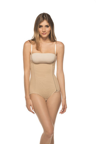 High Waist Girdle with Side Zipper - Annette Renolife - Style AS-9004