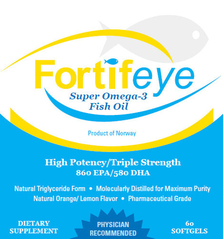 Fortifeye Super Omega-3 Fish Oil