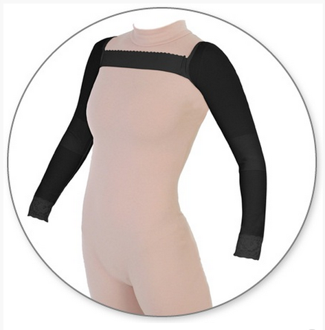 Style 55 Armsleeve Three Quarter Length with Elastic Band