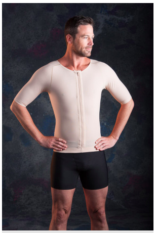 Rainey Men's Stage 1 Compression Top Zippered w/ Sleeves - MVS