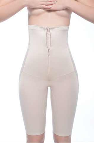 Above The Knee High Waist Girdle - Annette Renolife - Style IC-3003