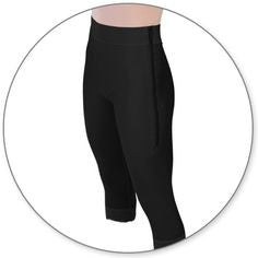 Style 1 Contour Mid-Calf Girdle with 2inch Waist Slit Crotch