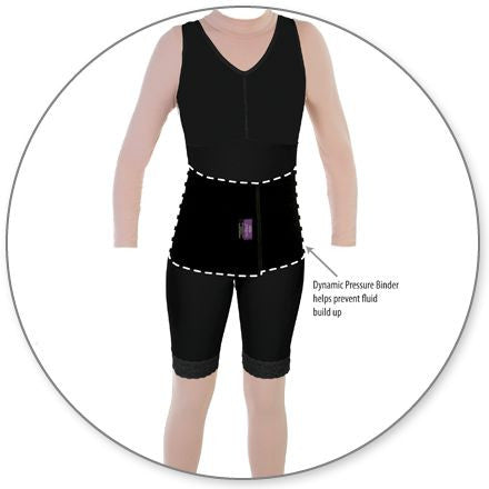 Style 50Z Fat Transfer Garment W/Side Zippers by Contour