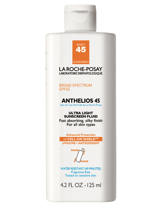 Anthelios 45 Body Sunscreen - La Roche-Posay
