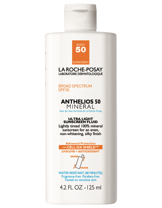 Anthelios 50 Body Mineral Tinted Sunscreen - La Roche-Posay
