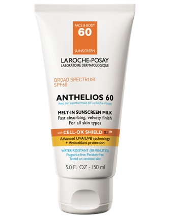 Anthelios 60 Body Milk Sunscreen - La Roche-Posay