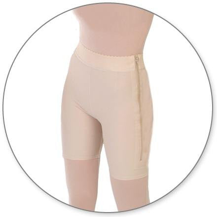 Biker Compression Garment Closed Crotch by Contour