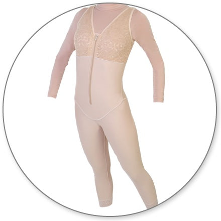 Style 29 - Body Shaper Ankle Slit Crotch by Contour