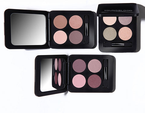 Youngblood - Pressed Mineral Eyeshadow Quad