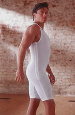 Rainey Men's Stage 1 High Back Compression Garment - MF1-MT