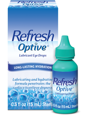 Refresh Optive Lubricant Eye Drops 15ml