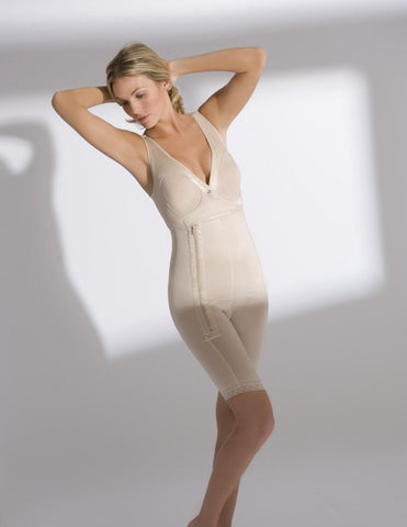 Full-body Sleeveless Above the Knee Girdle - Annette Renolife - Style 17366USX