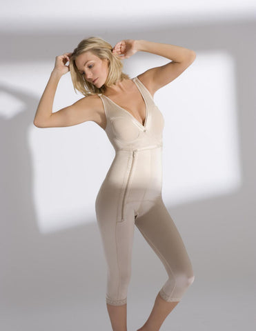 Full-body Sleeveless Below the Knee Girdle - Annette Renolife - Style 17392