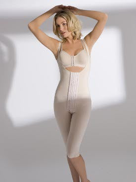 High Back Bodysuit That Extends Below the Knee - Renolife - Style ST-140