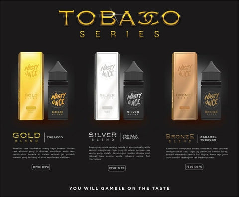 TOBACCO SERIES BY NASTY
