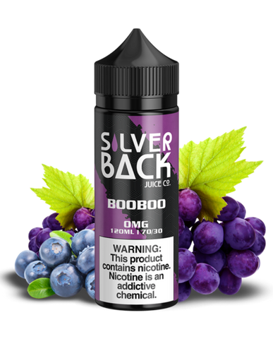 SILVERBACK JUICE CO BOOBOO 120ML