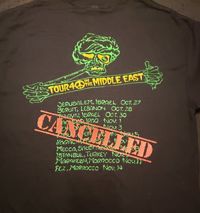 Peace in the Middle East Tour T shirt 2018
