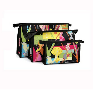 3pcs Cosmetics Bag Set - wandearthlust