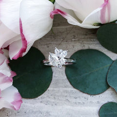 Statement Cluster Diamond Ring