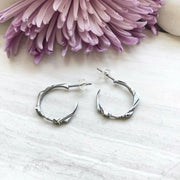 Metropolis Hoop Earrings