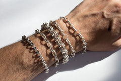 Double Round Small Chain Bracelet