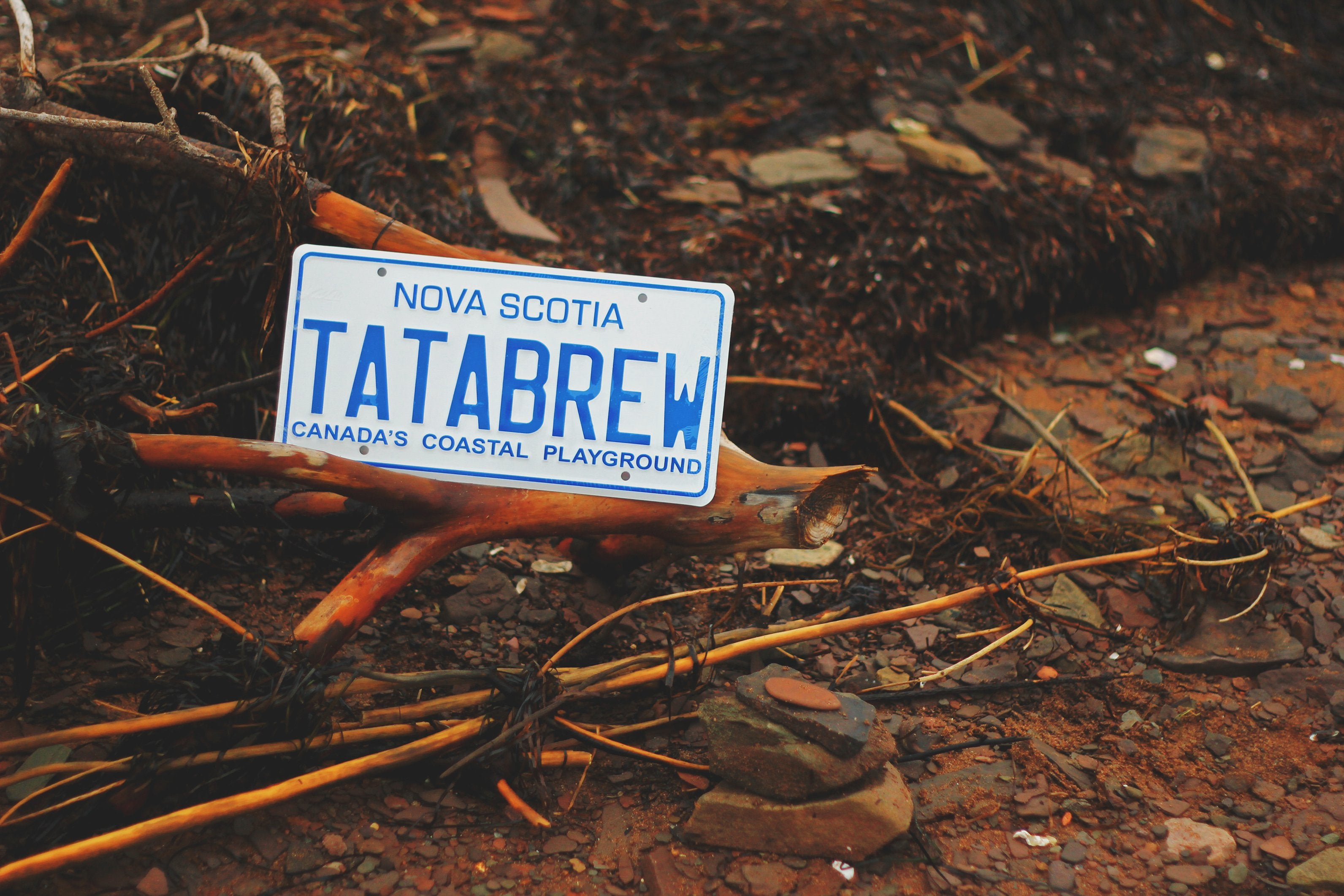TATA BREW License Plate