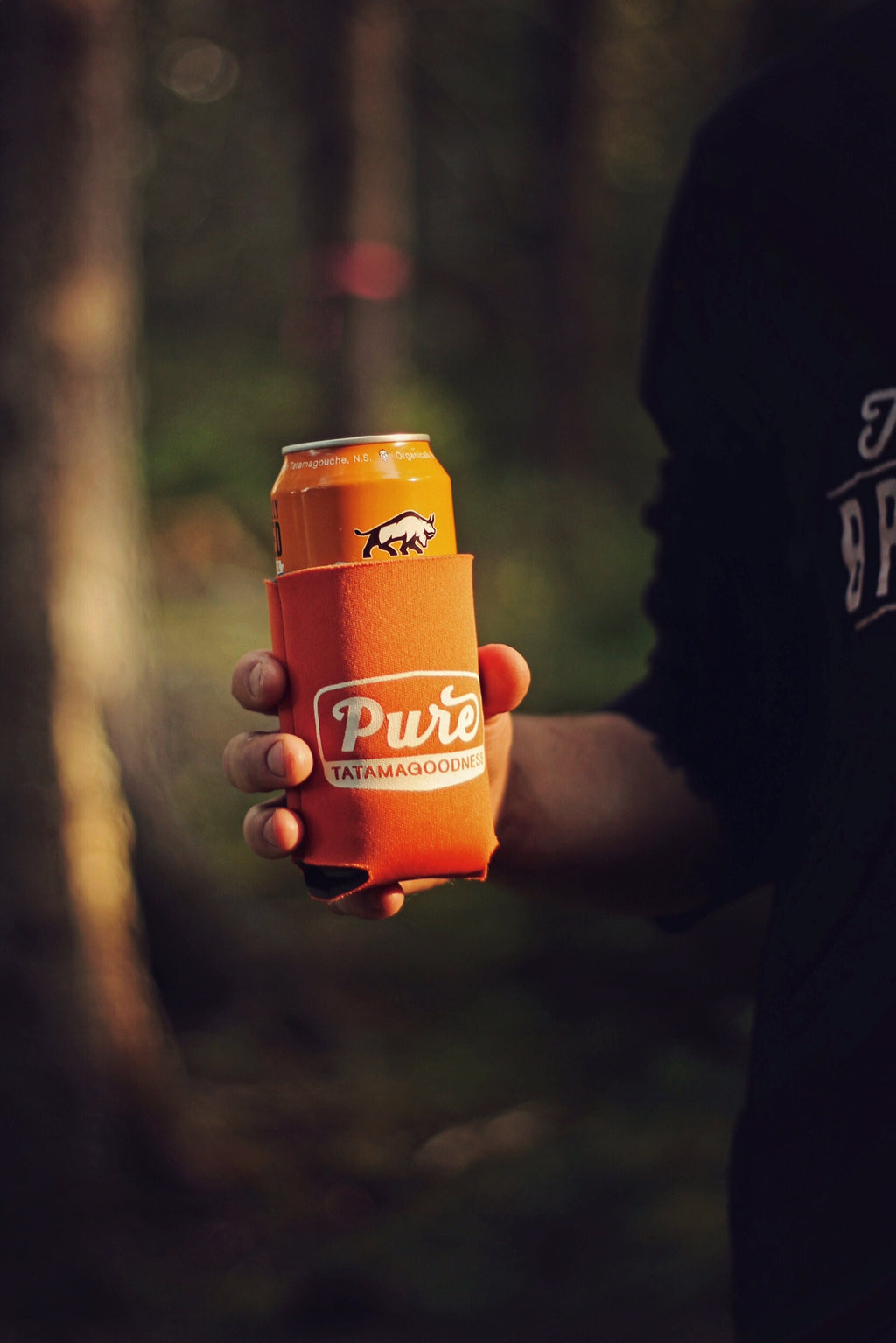Orange Beer Koozie