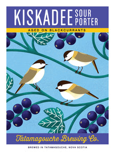 Kiskadee (Blackcurrants) Poster