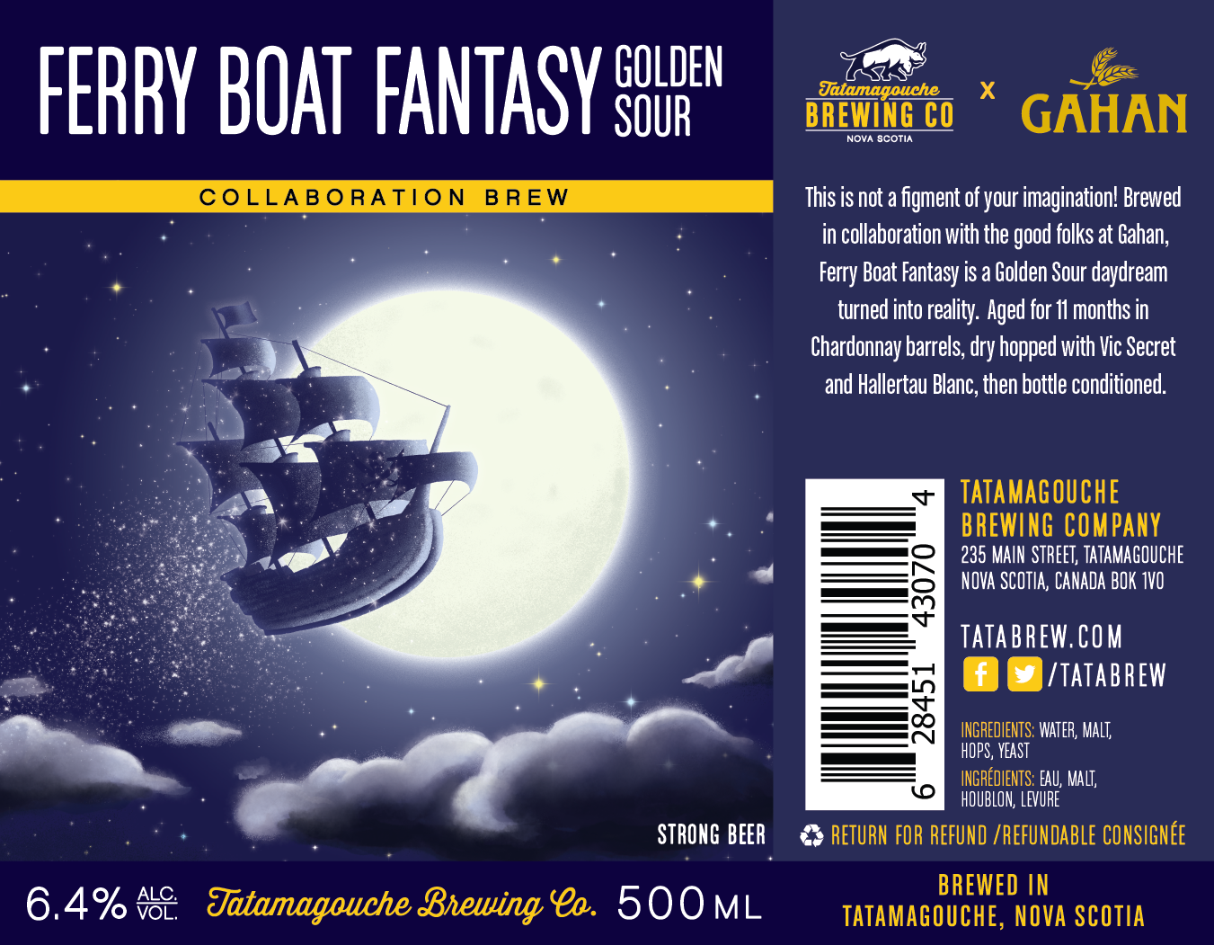 Ferry Boat Fantasy Golden Sour