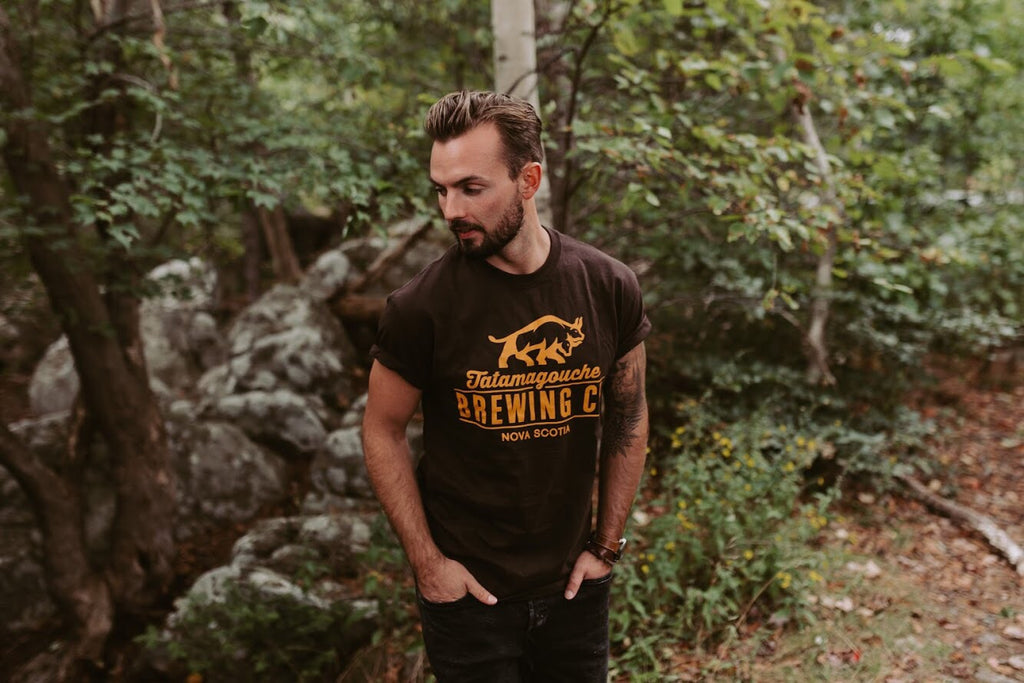 Men's Brown Tee