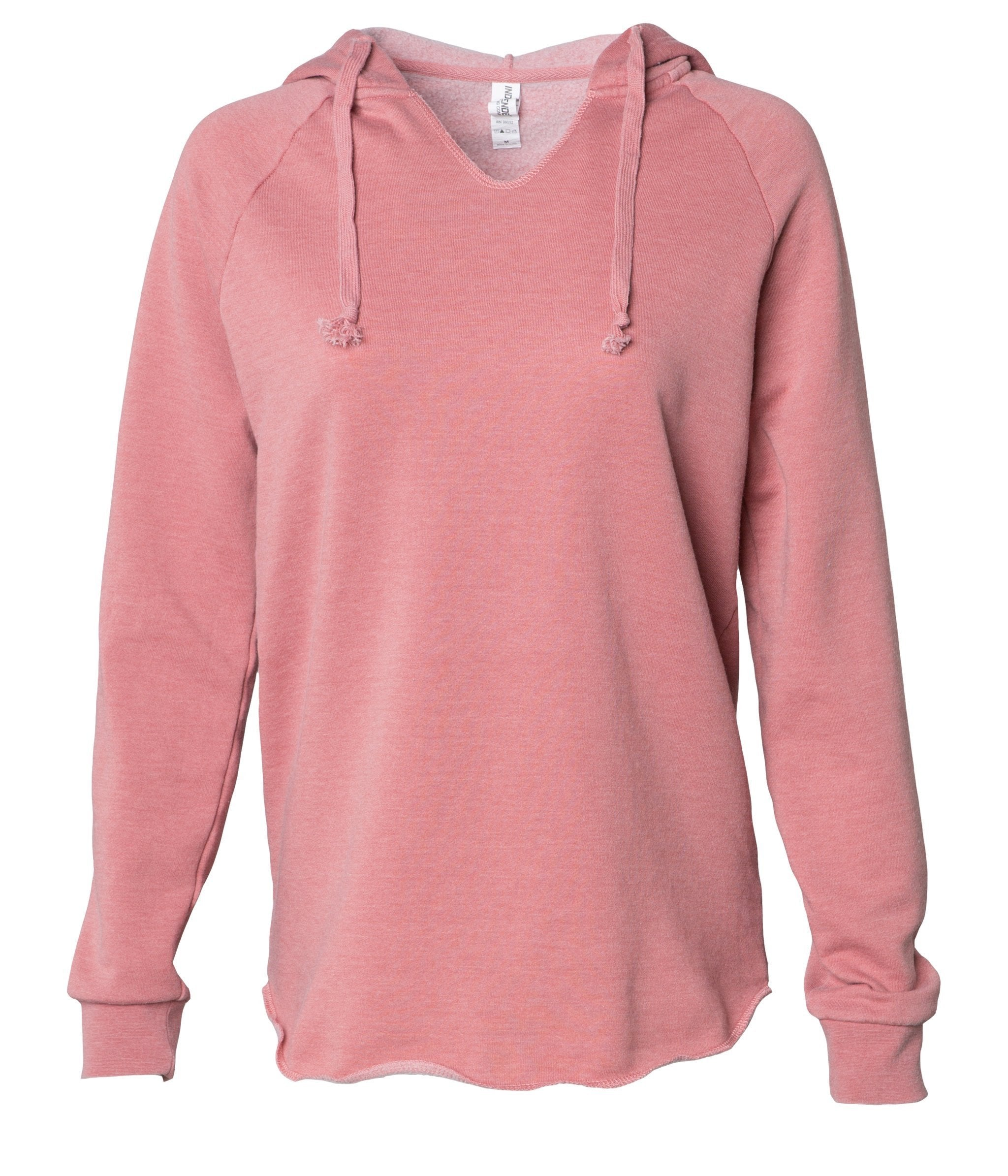 Dusty Rose Ladies Hoodie