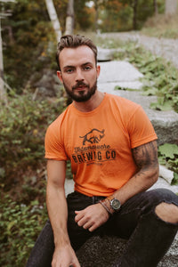 Orange Crewneck T-Shirt