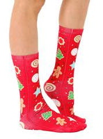 Christmas Cookies Crew Socks