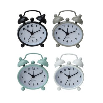 Metal Alarm Clock, 4 Colors