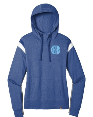 School Monogram Pullover in Blue:  Available in Olentangy, Liberty, Orange and Berlin