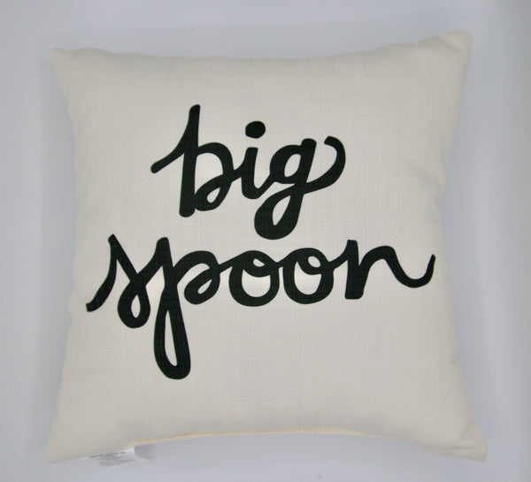 Big Spoon pillow
