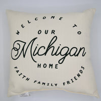 Our State Home Pillow