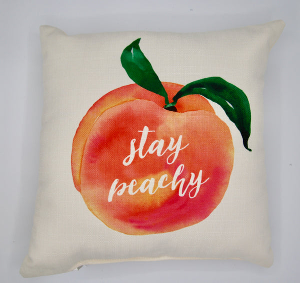Stay Peachy Pillow