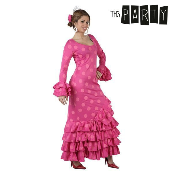 Costume per Adulti Th3 Party Sivigliana Rosa