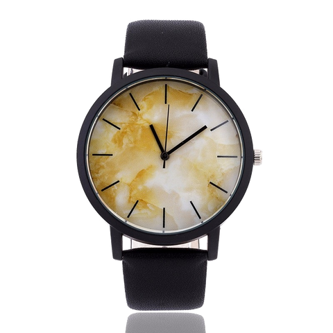 Marble Face Fashion Watch