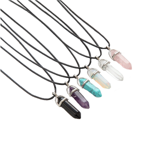 Hexagonal Crystal Necklace