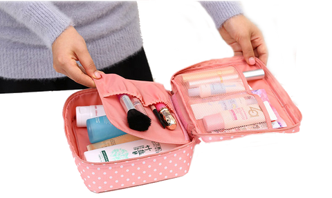 Zippered Cosmetic Organizer - 22 Designs