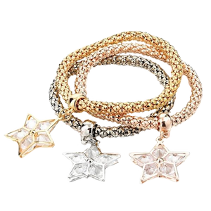 Crystal Charm Trio - 4 Styles Available