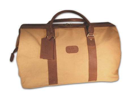Spioenkop Duffel Bag - Canvas & Leather