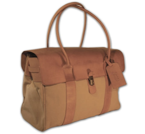 Talana Tote-Bag - Canvas & Leather