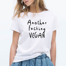Load image into Gallery viewer, Another F**king Vegan Tee