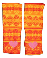 ORANGE NORDIC ARM WARMER