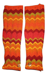 ITALIAN KNIT - ORANGE ARM WARMER