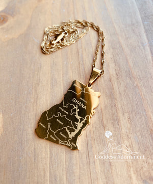 Home is where the heart is - Ghana Pendant